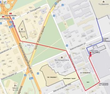 карта прохода для сайта
